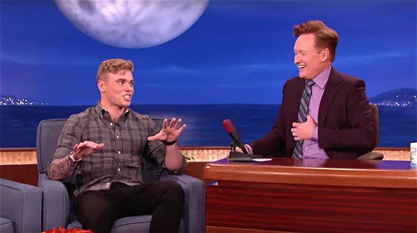 Gus Kenworthy tells Conan