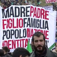 Thousands March Against Gay Civil Unions and Adoption in Italy: WATCH