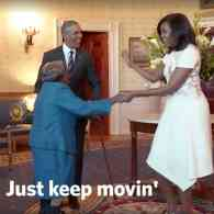 Obama dance party