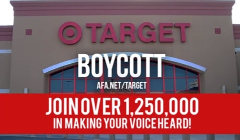 Faith2Action Target Protest