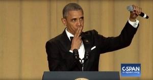 President Obama Mic Drop
