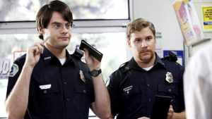 SUPERBAD, Bill Hader, Seth Rogen, 2007. ©Columbia Pictures/courtesy Everett Collection