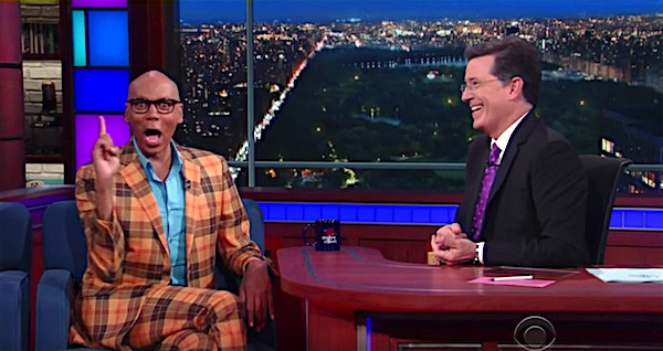 RuPaul Stephen Colbert