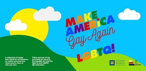 American Apparel Make America Gay Again