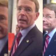 Watch This Awesome Activist Confront Bigoted FRC Mouthpiece Tony Perkins: VIDEO