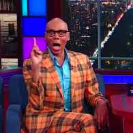 RuPaul Schools Stephen Colbert on Drag, Douching, and Pride: WATCH