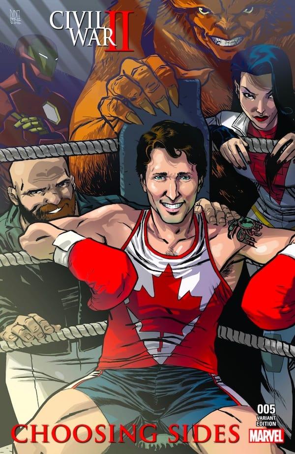 Civil War II Trudeau