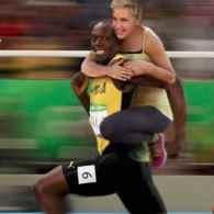 Ellen Usain Bolt
