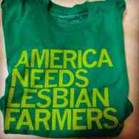 Iowa T-Shirt Company Responds to Rush Limbaugh's War Against 'Lesbian Farmers'