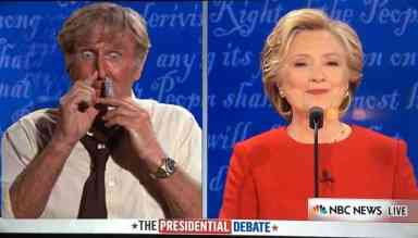 Lloyd Bridges / Hillary Clinton