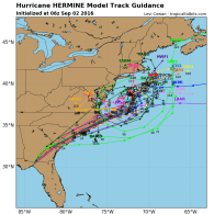 Hermine Plans Extended Stay in the Northeast?