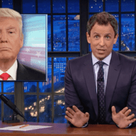 Seth Meyers: Donald Trump's Entire Campaign is Like the Last 10 Minutes of a Slasher Movie – WATCH