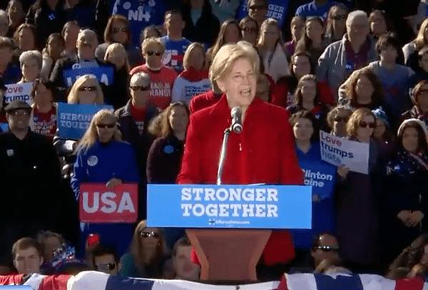 Elizabeth Warren To Trump: 'Nasty Women Vote'