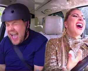 gaga Carpool karaoke