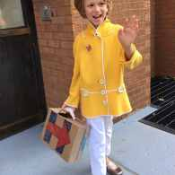 boy Hillary Clinton costume