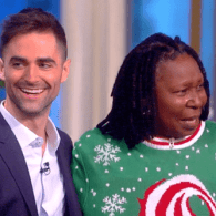 Whoopi Goldberg Gets Emotional Receiving Award for AIDS Activism from Elizabeth Taylor's Grandson – WATCH