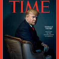 TIME's 'Person of the Year' is Donald Trump