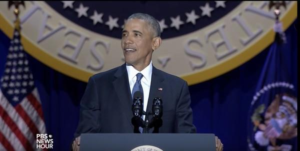 Obama farewell address