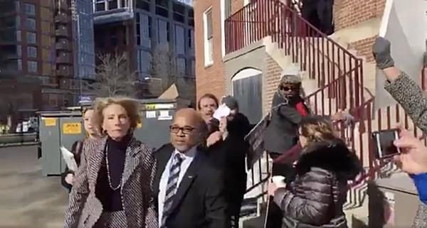 'Go Back! Shame, Shame:' Betsy DeVos Blocked From Entering DC Public School