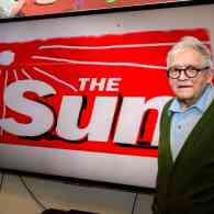 David Hockney Redesigned the Logo of Conservative UK Tabloid 'The Sun' and People are Freaking Out
