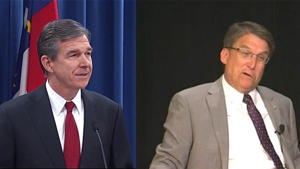 roy Cooper pat Mccrory hb2 north carolina