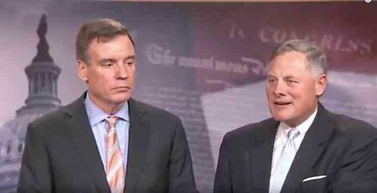 senate intelligence committee mark warner richard burr