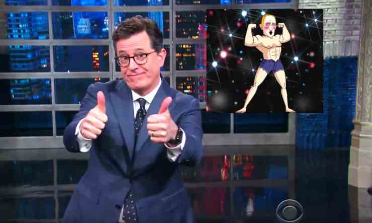 colbert gay clown
