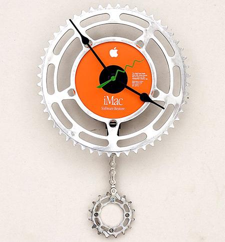 Bike Chain Wall Clock