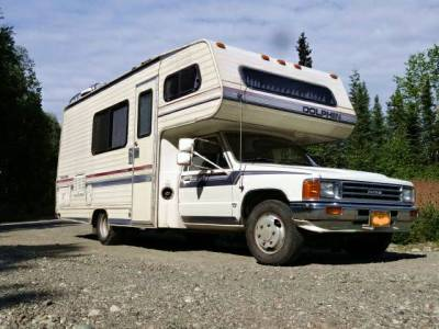 1987 Toyota Dolphin 21FT 22RE 4spd Motorhome For Sale in Wasilla, AK