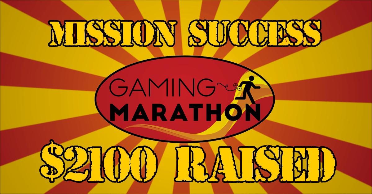 Gaming Marathon Success