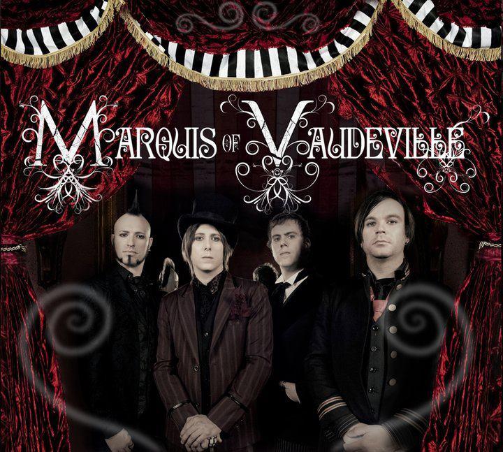 Marquis of Vaudeville Album Cover