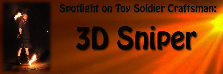 Spotlight On 3D Sniper Banner