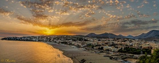 Overview of Gaeta, Italy