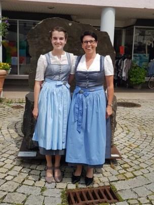 Paulina Götz mit Anja Rüttinger