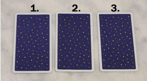 October 25th Free Tarot Card Reading, back