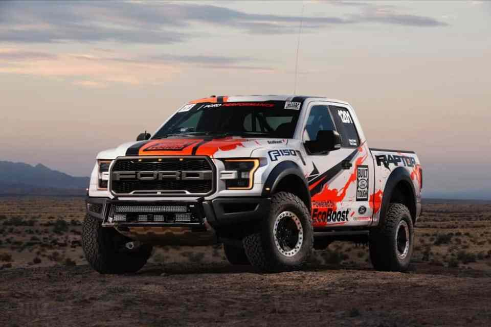 2017 Ford Raptor race truck
