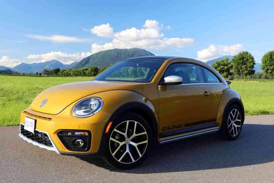 2016 volkswagen beetle dune review