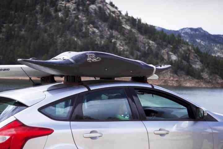Stowaway Portable Roof Rack: Smaller cars can now carry big items