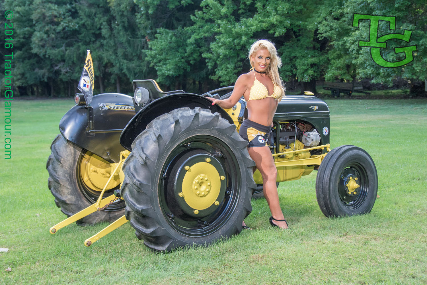 1950 Ford Tractor Tractor Vermilion : Tractor glamour
