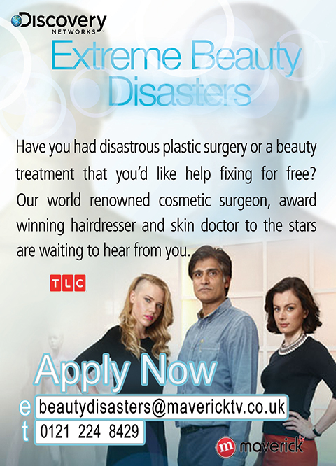 Extreme Beauty Disasters Are Filming A New Series!