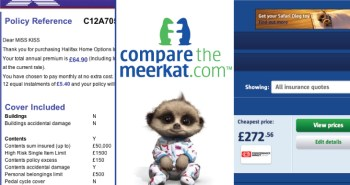 Compare The Meerkat Insurance Quotes