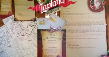 Lapland Mailroom Chrildren's Personalised Letters From Santa