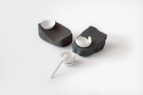 Bowls on Rocks - Tracy Muirhead