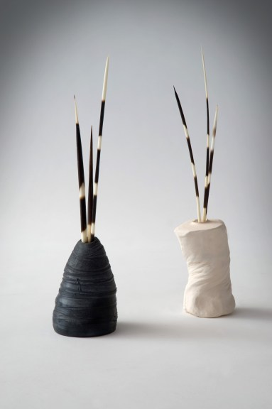 Porcupine quill pots - Tracy Muirhead