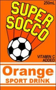 Supper Socco Juice Box