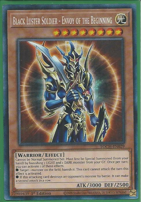 Rare YUGIOH Card Mint Near Mint Condition Envoy Of Chaos