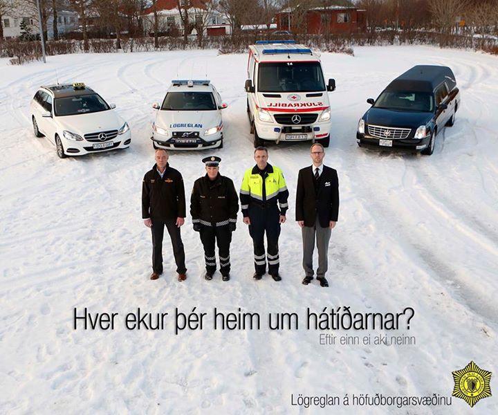 policia islandia