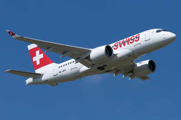 スイス・インターナショナル・エアラインズ(CS100)