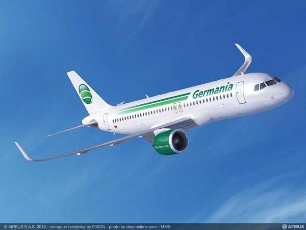 ゲルマニア・グループ(A320neo)