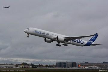 エアバスA350-1000型機